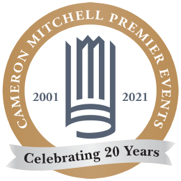 Cameron Mitchell Premier Events. Celebrating 20 Years