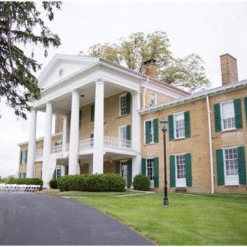 Exterior of Bryn Du Mansion