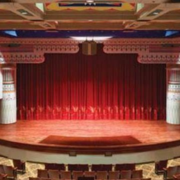 Interior of Lincoln Theater