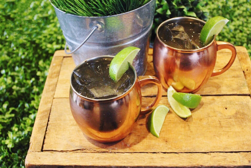 Delicious moscow mules