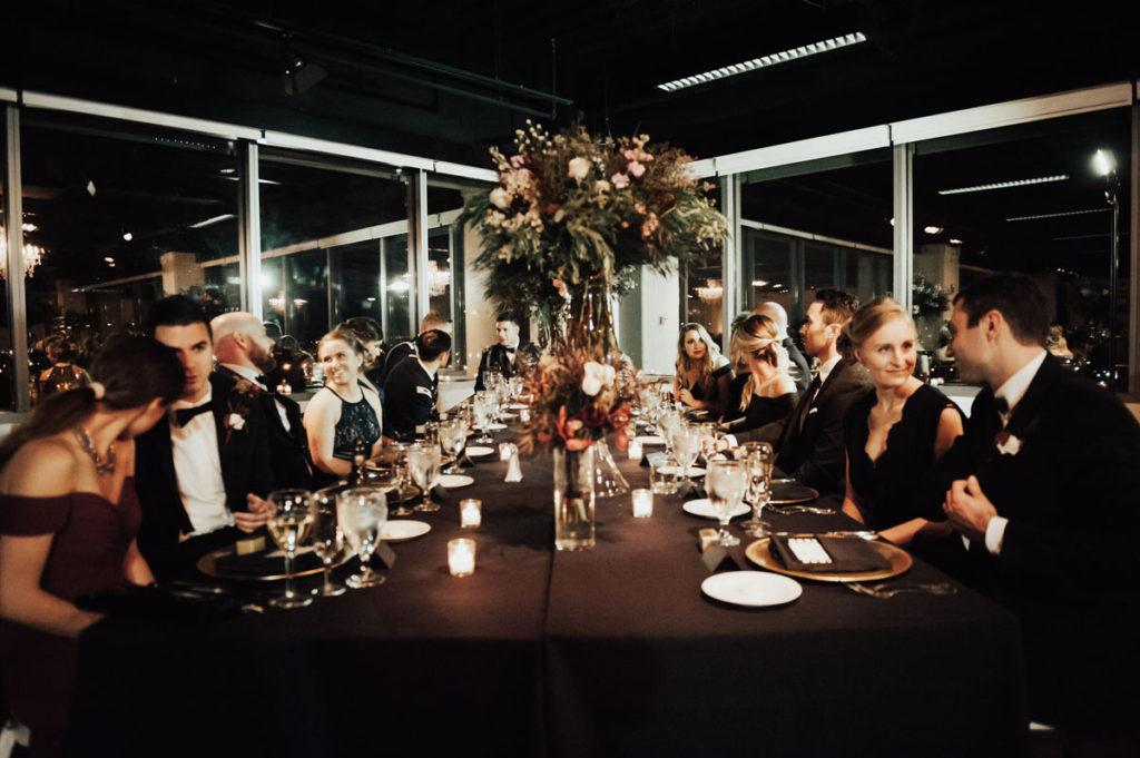 A photo of an elegant wedding