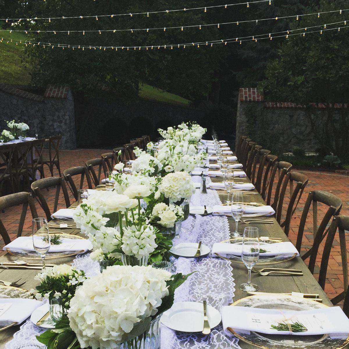 Gorgeous wedding decorations