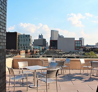 Explore our newest venue, The Terrace!