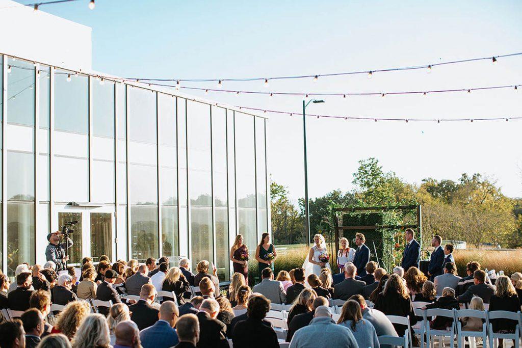 Kari and Ryan wedding party