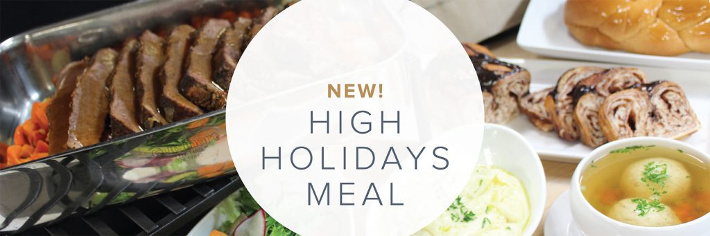New! High Holidays Meal by Cameron Mitchell Premier Events