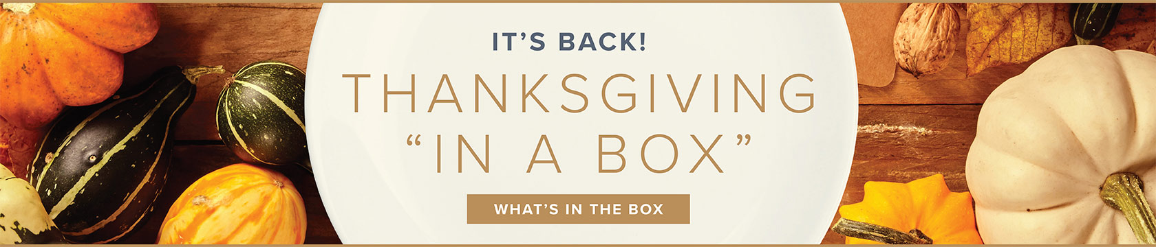 It's Back! Thanksgiving in a Box